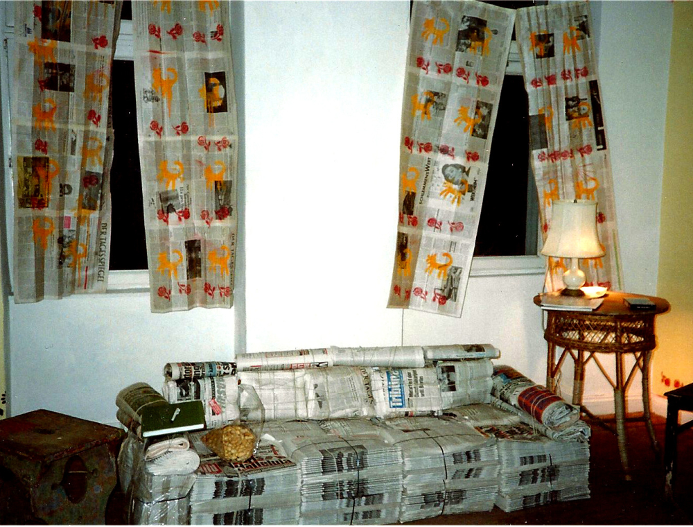 newspapercurtains